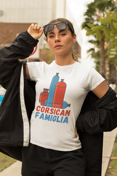 T-shirt femme corsican famiglia