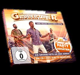 CD/DVD - Die Grubertaler - Schlagerparty in Kroatien