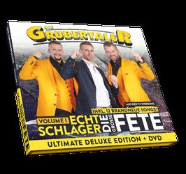 DIE GRUBERTALER - ECHT SCHLAGER – DIE GROSSE FETE – VOLUME I  LIMITED DELUXE EDITION INKL. HITMEDLEY UND DVD