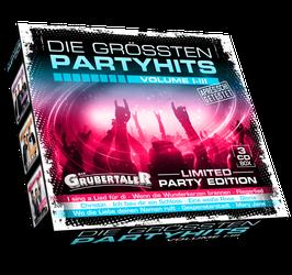 CD - Die größten Partyhits Volume I-III