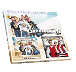 DIE GRUBERTALER – 2CD-KOLLEKTION
