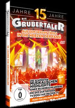 DVD - 15 Jahre - Die Grubertaler