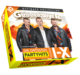 CD – DIE GRUBERTALER - ULTIMATE 10-CD-PARTYCOLLECTION-BOX
