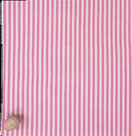 Wildwax Tuch L Streifen Pink