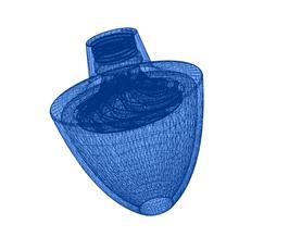 """Datensatz für Mono-Wasserverwirbler im Format """"STL"""""""