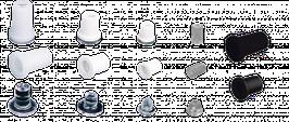 Montageset klein 1-10 Buchstaben Distanzhalter
