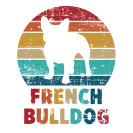 Autoaufkleber French Bulldog