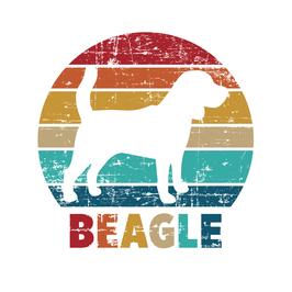Autoaufkleber Beagle