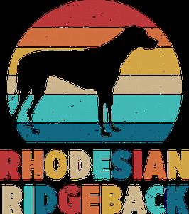 Autoaufkleber Rhodesian Ridgeback