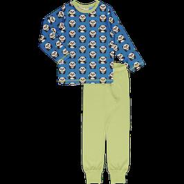 Maxomorra Pyjama LS Playful Panda