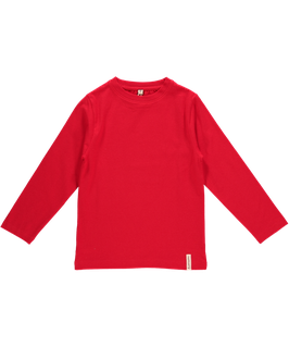Maxomorra Shirt LS Basic Red