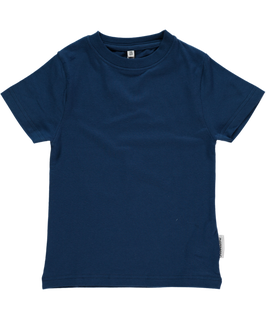 Maxomorra Basic Top SS Dark Blue