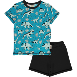 Meyadey/Maxomorra Pyjama SS Dino Forest