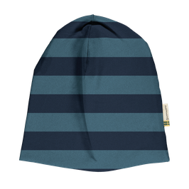 Maxomorra Mütze Stripe Ocean