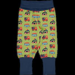 Maxomorra Pants Rib Colourful Cars