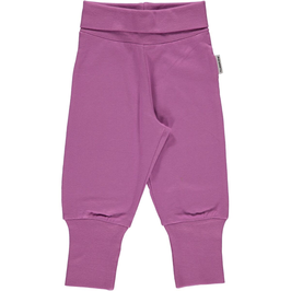 Maxomorra Pants Rib Purple