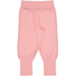 Maxomorra Pants Rib Solid Blossom