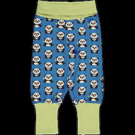 Maxomorra Pants Rib Panda