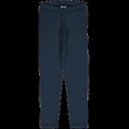 Maxomorra Leggings Navy Solid