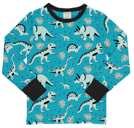 Meyadey/Maxomorra Shirt LS Dino Forest