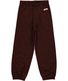 Maxomorra Pants Basic dark brown