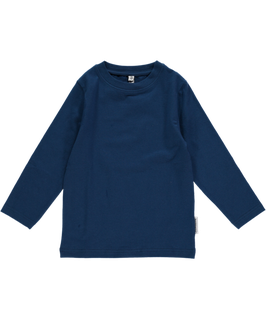 Maxomorra Shirt LS Basic Dark Blue