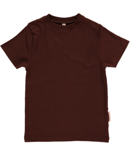 Maxomorra Shirt SS dark brown