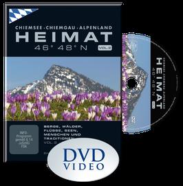 HEIMAT 46° 48° N - Chiemsee, Chiemgau, Alpenland  |  VOL. 2 - DVD | Winter-Frühling