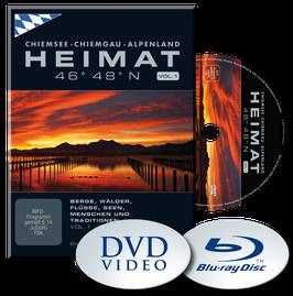 HEIMAT 46° 48° N - Chiemsee, Chiemgau, Alpenland  |  VOL. 1 - DVD  | Sommer-Herbst