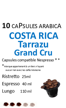 COSTA RICA TARRAZU GRAND CRU