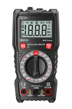 MS0105: VA-LABs Digital-Multimeter, 2.000 Counts