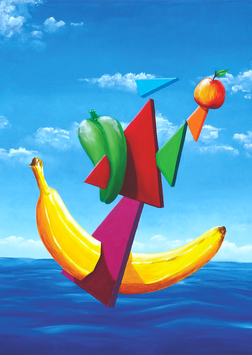 Bananaboot | © 2017 Anton Göllner | Original 80 x 100 cm