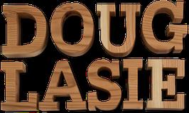 Holzbuchstabe aus Douglasie