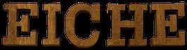 Holzbuchstabe aus Eiche