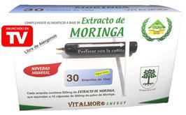 Extracto de Moringa en Ampollas bebibles