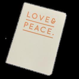 Notizheft 'Love & Peace'