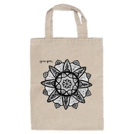 スシャント君のデザイン「蓮の花」トートバッグ