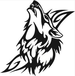 Läsergravur Wolf-1
