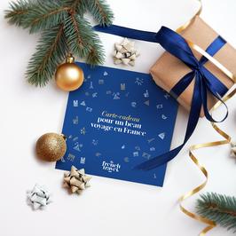 Carte-Cadeau d'une valeur de 150€ (format carton imprimé avec enveloppe fournie)