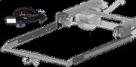 Attelage de remorque variable 12,5 kN avec jeu de câbles électriques et rallonge de châssis Fiat Ducato ZFA 250