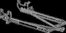 Attelage de remorque variable 12,5 kN avec rallonge de châssis Ford Transit plancher à partir 2014