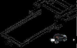 Attelage de remorque variable 12,5 kN avec jeu de câbles électriques et rallonge de châssis Ford Transit FT350 normal à partir 2000