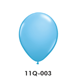 Qualatex-Rundballons hellblau
