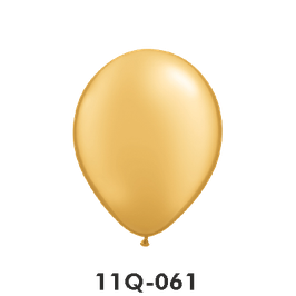 Qualatex-Rundballons Metall gold