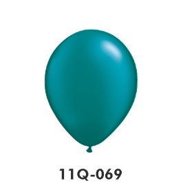 Qualatex-Rundballons Perl teal