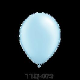 Qualatex-Rundballons Perl hellblau