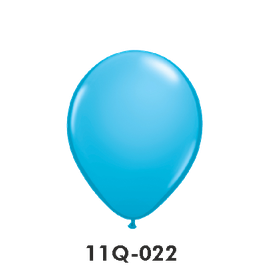 Qualatex-Rundballons Robin's egg blue