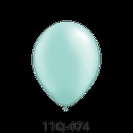Qualatex-Rundballons Perl mintgrün