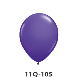 Qualatex-Rundballons purple violet