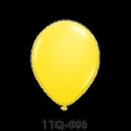 Qualatex-Rundballons gelb